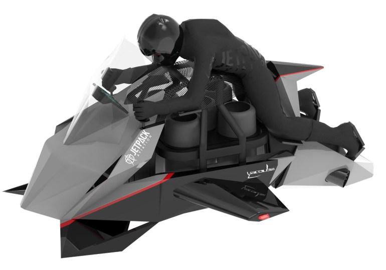 Speeder - летающий мотоцикл от небезызвестной Jetpack Aviation