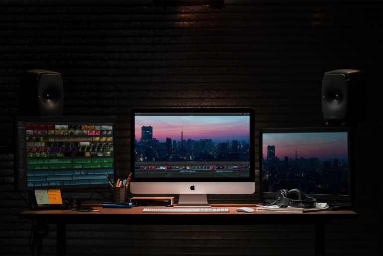 Apple (впервые за два года) обновила моноблоки iMac: новые CPU Intel, видеокарты AMD Radeon Pro Vega и 64 ГБ ОЗУ. Топовая конфигурация стоит $5250