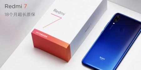 Смартфон Xiaomi Redmi 7 представлен официально: SoC Snapdragon 632, большой экран с каплевидным вырезом, сдвоенная камера и аккумулятор на 4000 мА·ч — за $100