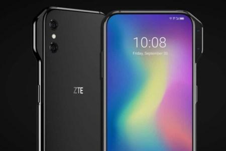 ZTE создала концепты безрамочных смартфонов с боковыми модулями камер