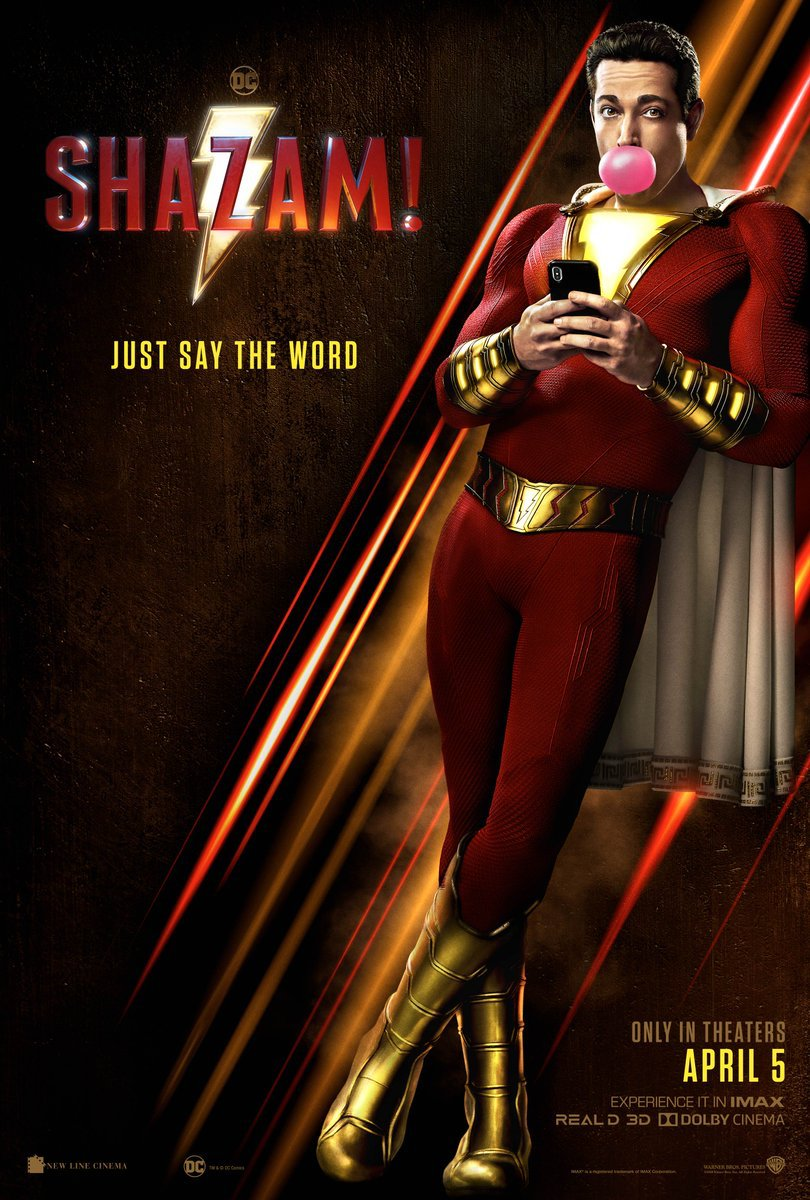 вышел финальный трейлер супергеройского фильма Shazam