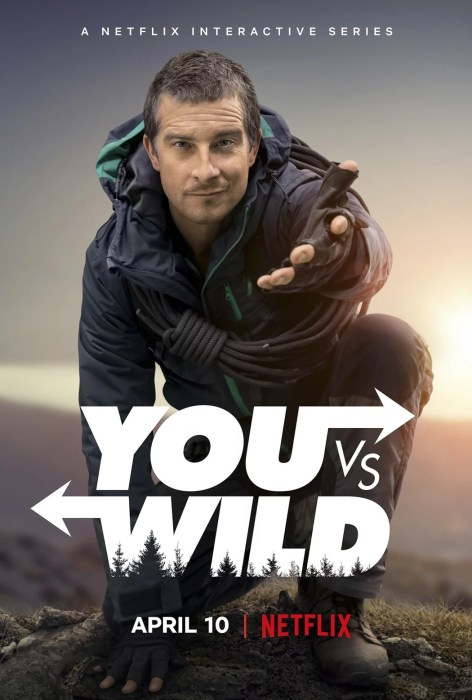 """Netflix выпустит интерактивный сериал You vs Wild, в котором зритель будет """"выживать"""" в дикой природе вместе с Беаром Гриллсом (премьера 10 апреля, трейлер)"""