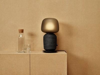 Ikea представила гибрид колонки и настольной лампы