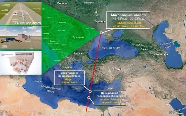 КБ «Южное» разрабатывает лёгкую ракету «Циклон-1М», которую можно будет запускать с территории Украины