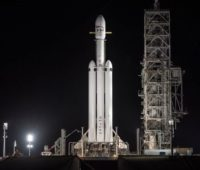 Онлайн-трансляция: первый коммерческий запуск Falcon Heavy с арабским коммуникационным спутником Arabsat 6A - ITC.ua