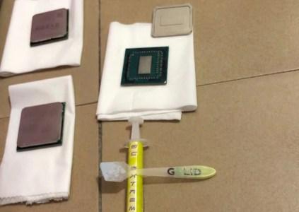 Процессор AMD Ryzen 3 3200G засветился на «живых» фотографиях