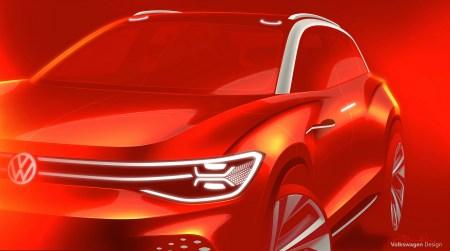 Volkswagen показал первые изображения полноразмерного электрокроссовера ID. ROOMZZ. Концепт покажут через две недели в Шанхае, серийная версия выйдет в 2021 году
