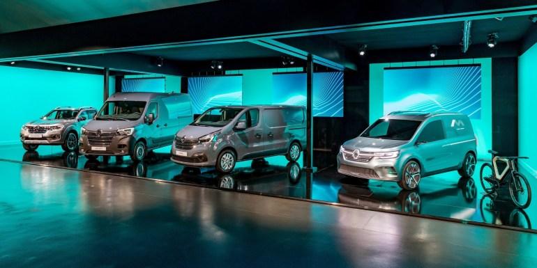 Renault Kangoo Z.E. Concept демонстрирует, как будет выглядеть серийный электрофургон 2020 модельного года