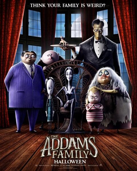 """Вышел первый тизер-трейлер нового полнометражного мультфильма The Addams Family / """"Семейка Аддамс"""", премьера назначена на 11 октября 2019 года"""