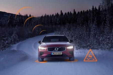 Автомобили Volvo будут автоматически обмениваться информацией о скользких дорогах и потенциальных угрозах на территории Европы