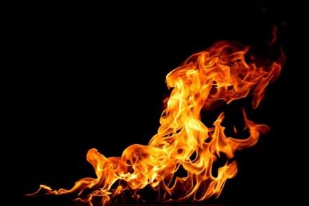 Этот космический огнетушитель всасывает огонь вместо выброса огнетушащего порошка