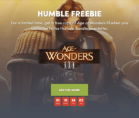 В Humble Bundle бесплатно раздают стратегию Age of Wonders III - ITC.ua