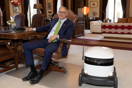 Власти штата Вашингтон разрешили доставку товаров робокурьерами