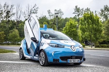 Renault ZOE Cab и Transdev-Lohr i-Cristal — автономные электрические «роботакси» для перевозки пассажиров от Paris-Saclay Autonomous Lab
