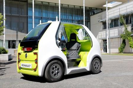 Renault EZ-POD — компактный автономный электромобиль для доставки пассажиров и грузов в пределах «последней мили»