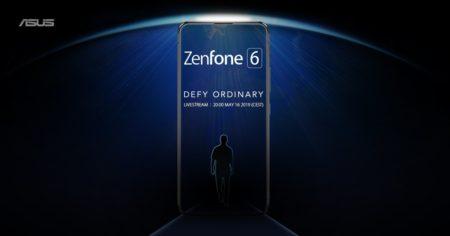 Рекламное изображение нового флагмана ASUS Zenfone 6демонстрирует безрамочный смартфон без вырезов и отверстий - ITC.ua