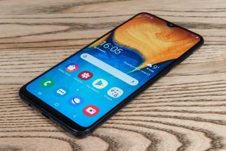 Обзор смартфона Samsung Galaxy A20