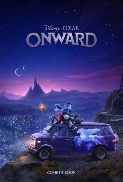 """Первый трейлер мультфильма Onward / """"Вперед"""" от Disney/Pixar о мире, в котором технологии заменили магию"""