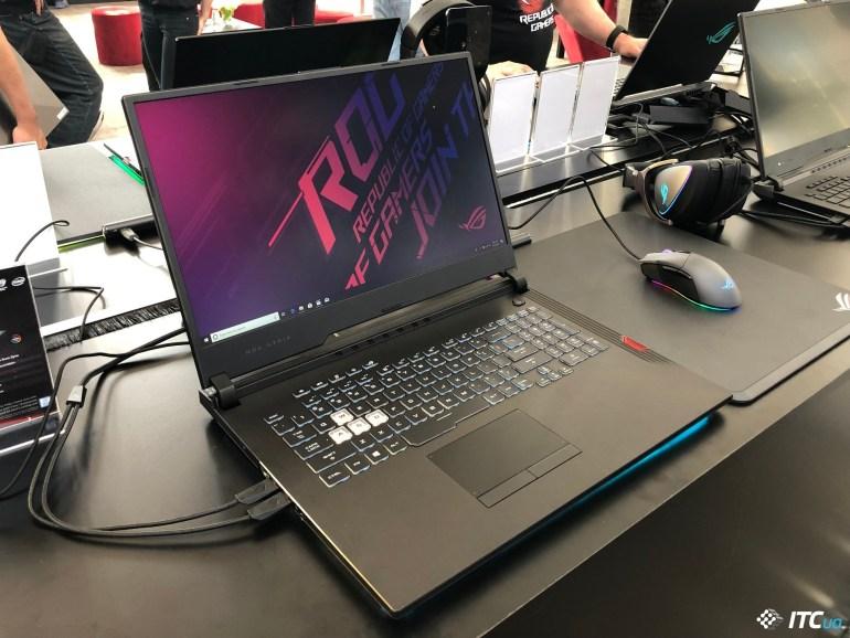 Киберспорт идет в народ: ASUS обновляет линейку игровых ноутбуков ROG Strix