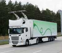 """В Германии открыли первый """"электрический автобан"""" для грузовиков с токосъемниками - ITC.ua"""