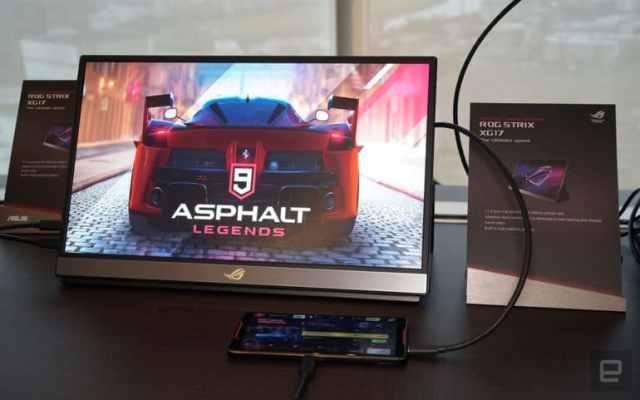 ASUS представила первый в мире портативный монитор с частотой обновления 240 Гц - ITC.ua