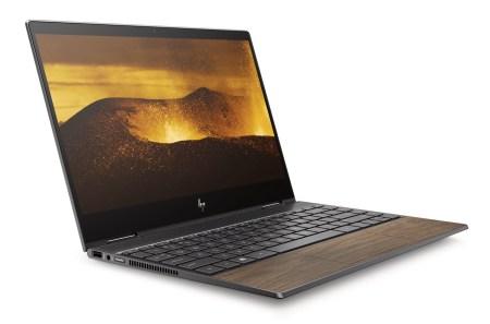 Не только кожа, но и дерево. HP начала использовать в отделке ноутбуков вставки из натурального дерева
