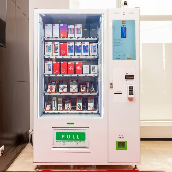 Xiaomi запустит продажи своей продукции через вендинговые автоматы Mi Express Kiosk