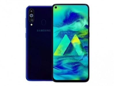 Смартфон Samsung Galaxy M40 (конкурент Redmi K20) показался на качественном изображении, он получит тройную камеру с основным модулем на 32 Мп и врезанную в экран селфи-камеру на 16 Мп