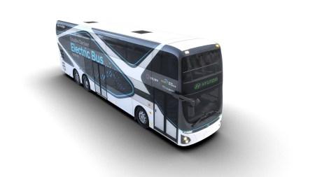 Hyundai показал двухэтажный электробус на 70 мест с батареей емкостью 384 кВтч и запасом хода 300 км