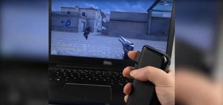 Ragnok Mousegun – вертикальная мышь для шутеров с дизайном пистолета