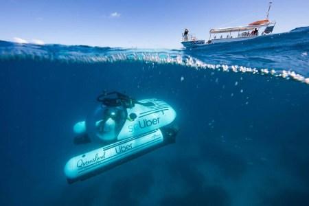 В Австралии запускают «подводное такси» scUber, с помощью которого можно будет исследовать Большой барьерный риф на субмарине [видео]