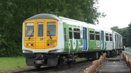 HydroFlex — первый британский водородный поезд