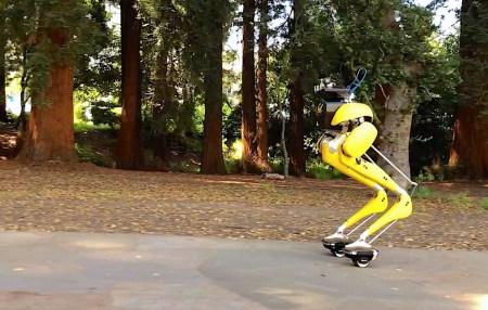 Робот Cassie научился кататься на гиророликах