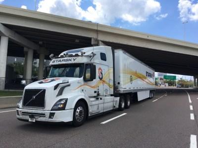 Стартап Starsky Robotics начал испытывать свои полуавтономные телеуправляемые грузовики на дорогах общего пользования без страховочного водителя за рулем
