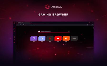 Opera разработала первый в мире «геймерский браузер» Opera GX с характерным дизайном, контролем за нагрузкой на процессор и память и другими игровыми функциями