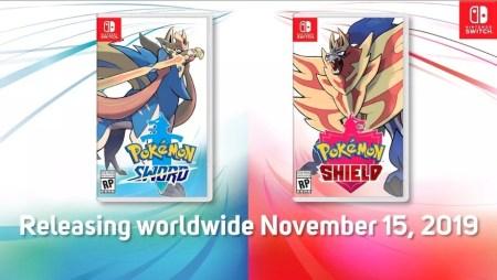 Релиз Pokémon Sword и Pokémon Shield на платформе Nintendo Switch состоится 15 ноября