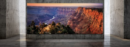 Samsung анонсировала модульный 8K-телевизор The Wall Luxury диагональю 292 дюйма