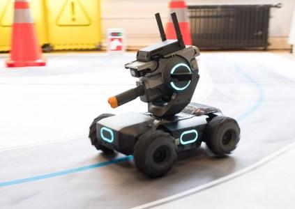 DJI создала робот-танк RoboMaster S1 стоимостью $500 для обучения детей программированию
