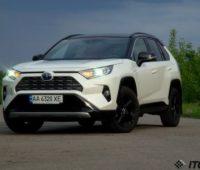Тест-драйв Toyota RAV4 Hybrid: новый бестселлер - ITC.ua
