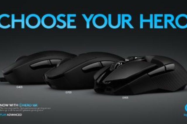Logitech обновила линейку геймерских мышей тремя моделями с датчиком HERO 16K - ITC.ua