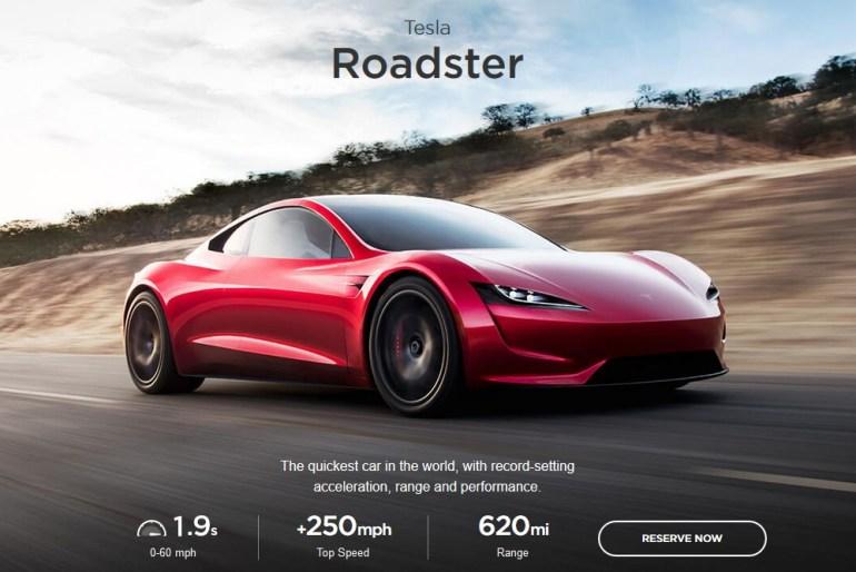 "Илон Маск ""замедлил"" Tesla Roadster - разгон до 60 миль/ч займет 2,1 секунды, а не 1,9 секунды, как было обещано ранее"