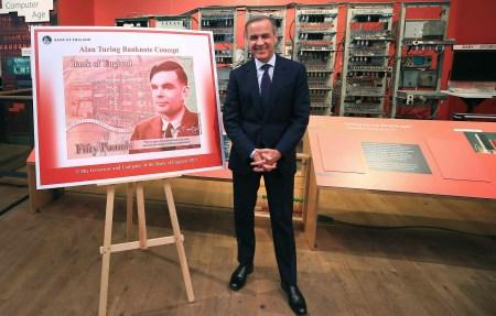 Банк Англии выпустит банкноту номиналом £50 с портретом Алана Тьюринга