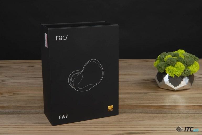 Обзор внутриканальных наушников FiiO FA7