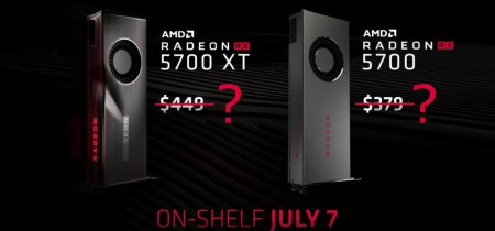 Подешевели еще до старта продаж. AMD решила снизить цены на видеокарты Radeon RX 5700 и RX 5700 XT