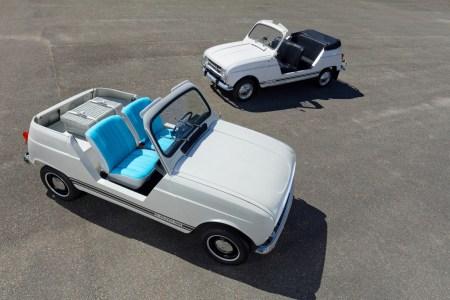 Renault e-Plein Air — электрический шоукар с внешностью классического Renault 4 и платформой Twizy