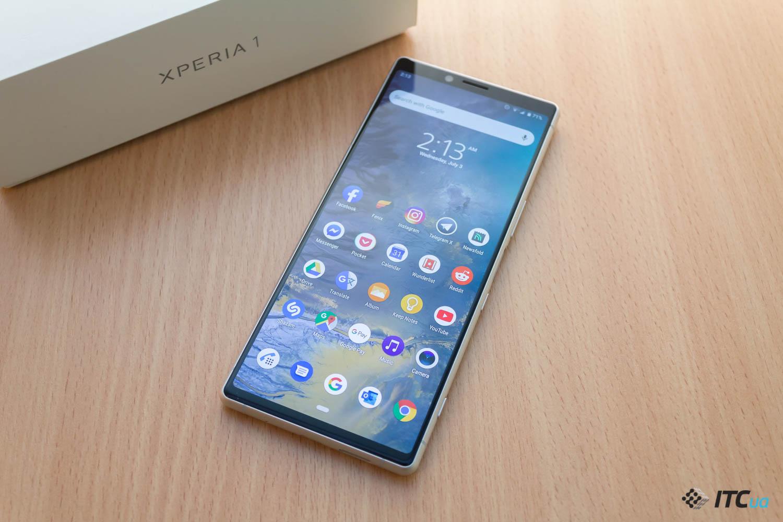 Xperia 1 — обзор смартфона Sony с экраном 21:9 - ITC.ua