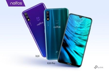 В Украине стартовали продажи смартфонов TP-Link Neffos X20 и TP-Link Neffos X20 Pro по цене 3299 грн и 3999 грн соответственно