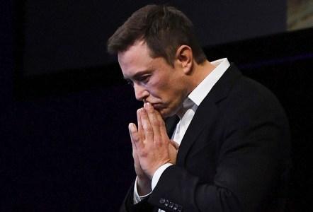 Акции Tesla обрушились