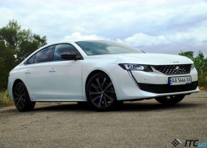 Тест-драйв Peugeot 508: крышей ниже – классом выше - ITC.ua