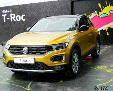 Первый взгляд на Volkswagen T-Roc: 150 сил, «автомат», приятный дизайн
